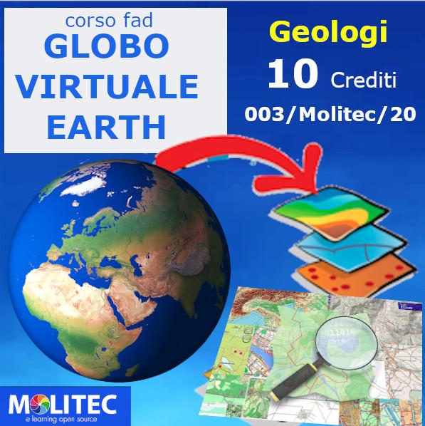 Globo Virtuale (Earth) come un Gis facile e le mappe libere OSM - 10 crediti