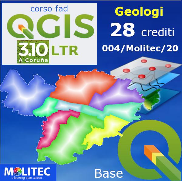 QGIS pratico e i SIT per la Geologia con mappe web - Base - 28 crediti