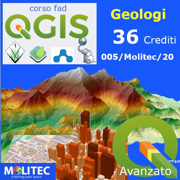 QGIS pratico per la Geologia - Advanced - 36 crediti